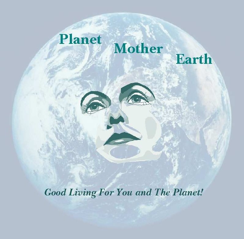 planet mother earth logo